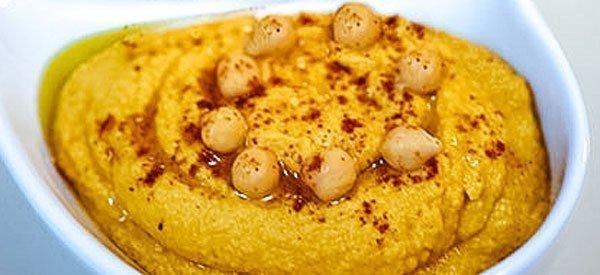 Pumpkin Hummus / Hummus de Calabaza
